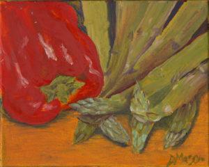 Asparagus & Red Pepper